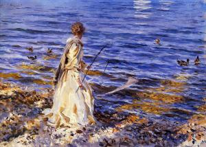 John Singer Sargent, Girl Fishing